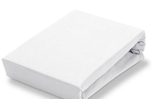 Vandyck Jersey Soft Hoeslaken White