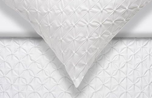 Vandyck Home 77 Diamond Dekbedovertrek White