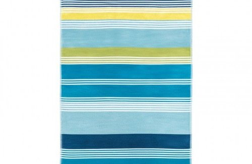 Arkhipelagos Fresh Stripes Strandtuch (100x180cm) Blue