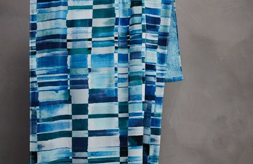 Essenza Dali Strandtuch (100x180cm) Blue