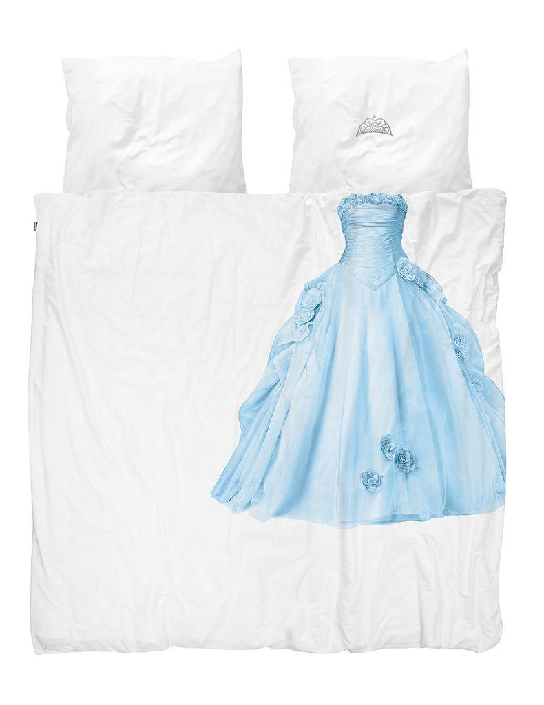 Snurk Princess Bettwäsche Blue Linnenmode