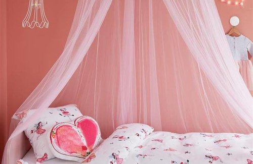 Beddinghouse Butterfly Girl 1-Persoons (140x200/220cm + 1 sloop) Pink
