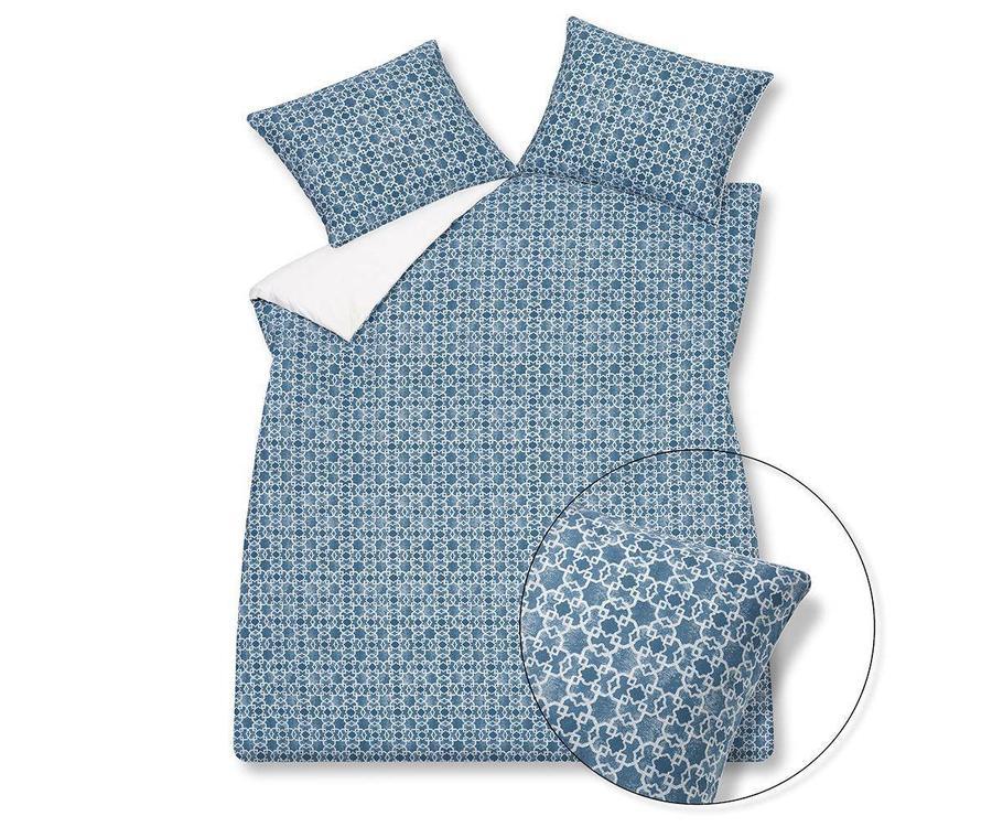 Slaapkamer Vintage Blue : Vandyck pure 17 vintage blue dekbedovertrek linnenmode