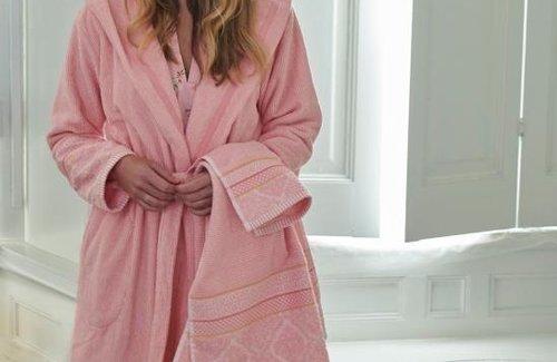 PiP Studio Soft Zellige Pink Badjas