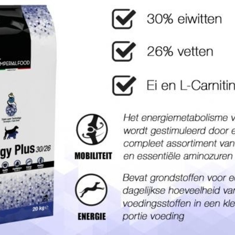 Imperial Food Imperialfood Energy plus 30-26 Hondenvoer