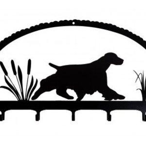 Firedog Dog Key Rack Spaniels
