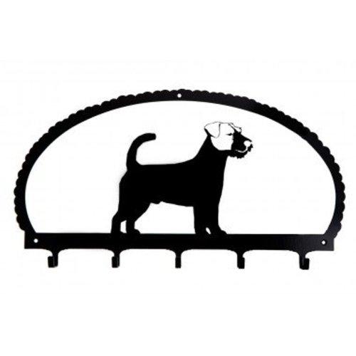 Firedog Dog Key Rack Earth Dogs