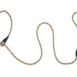 Firedog Firedog Moxon Leash 6 mm met dubbele hornstop twee-kleurig