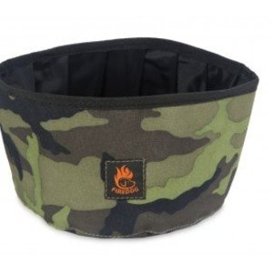 Firedog Firedog Travel Bowl 2L. Camo Kleuren + Greens