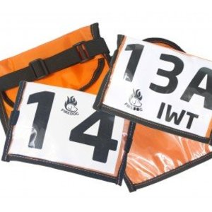 Firedog Firedog Arm Band Holder voor Start Nummer