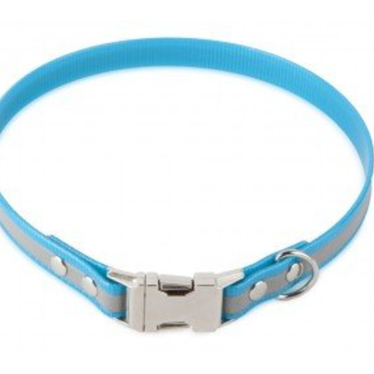 Firedog Firedog BioThane Collar Clip Reflect 19 mm - 38 - 42 cm