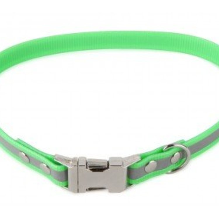 Firedog Firedog BioThane Collar Clip Reflect 19 mm - 47-50 cm