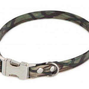 Firedog Firedog BioThane Collar Clip Camo 19 mm - 43-46 cm