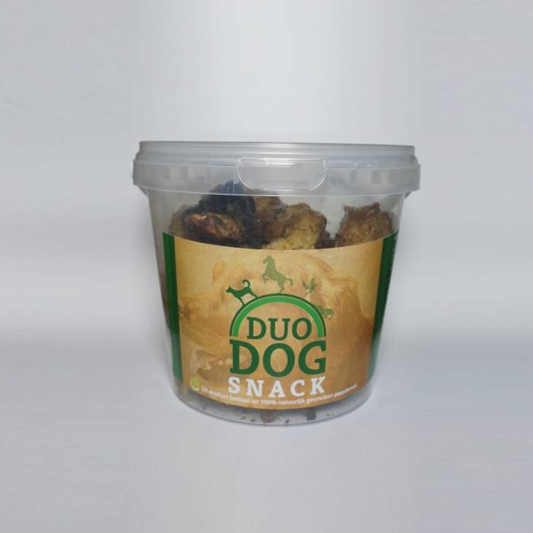 Duo Dog Duo Protection Dog Snackjes - 350 Gram