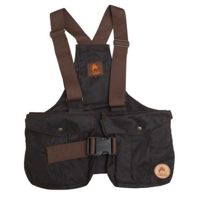 Firedog Firedog Dummy Trainer Vest Waxed Cotton met plastic gesp