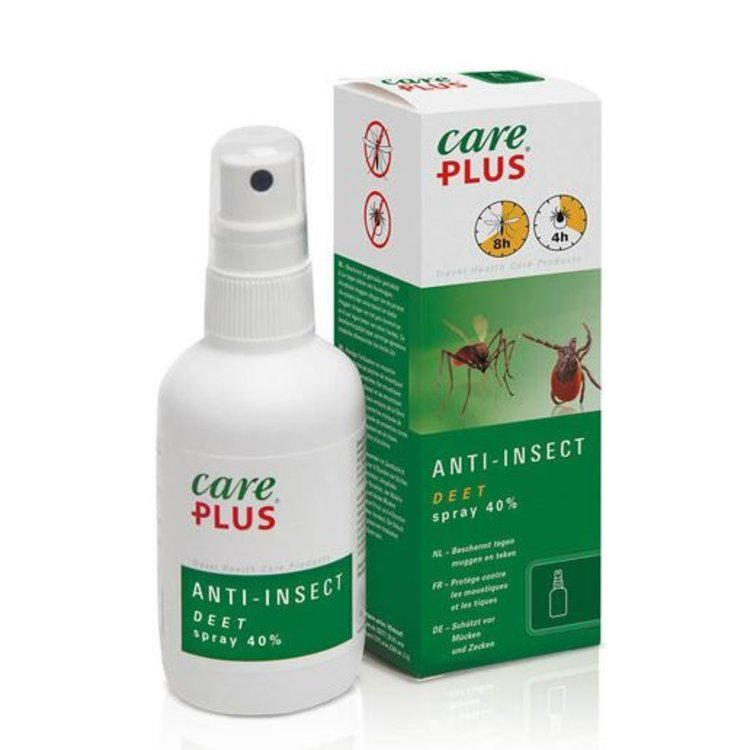 Care Plus CarePlus Anti-Insect 40% Deet Spray, meerdere maten