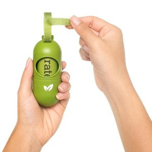 Earth- Rated Eco Poep zakjes Dispenser - Lavender