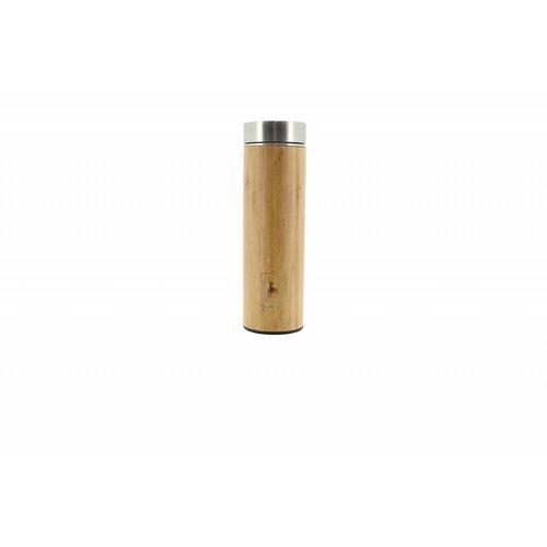 Deerhunter Bamboo Thermo Fles met Logo