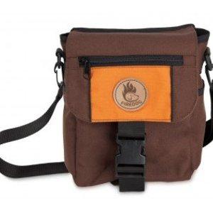 Firedog Mini Dummy Deluxe Tas - Bruin/Oranje
