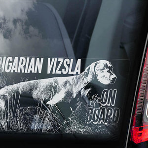 Auto Sticker Vizsla's