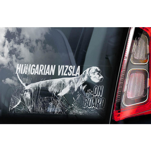 Auto Sticker Vizsla's