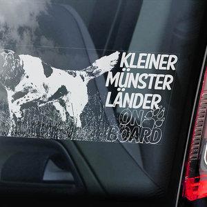 Auto Sticker Kleine Münster Länder