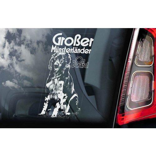Auto Sticker Großer Münster Länder