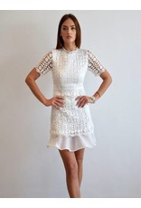 Love Shop Pray Mini lace dress