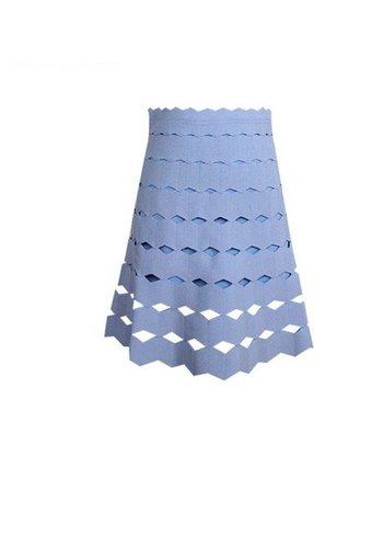 Love Shop Pray Bandage mini skirt