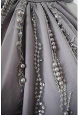 Preeti Chandra Lace halter short dress