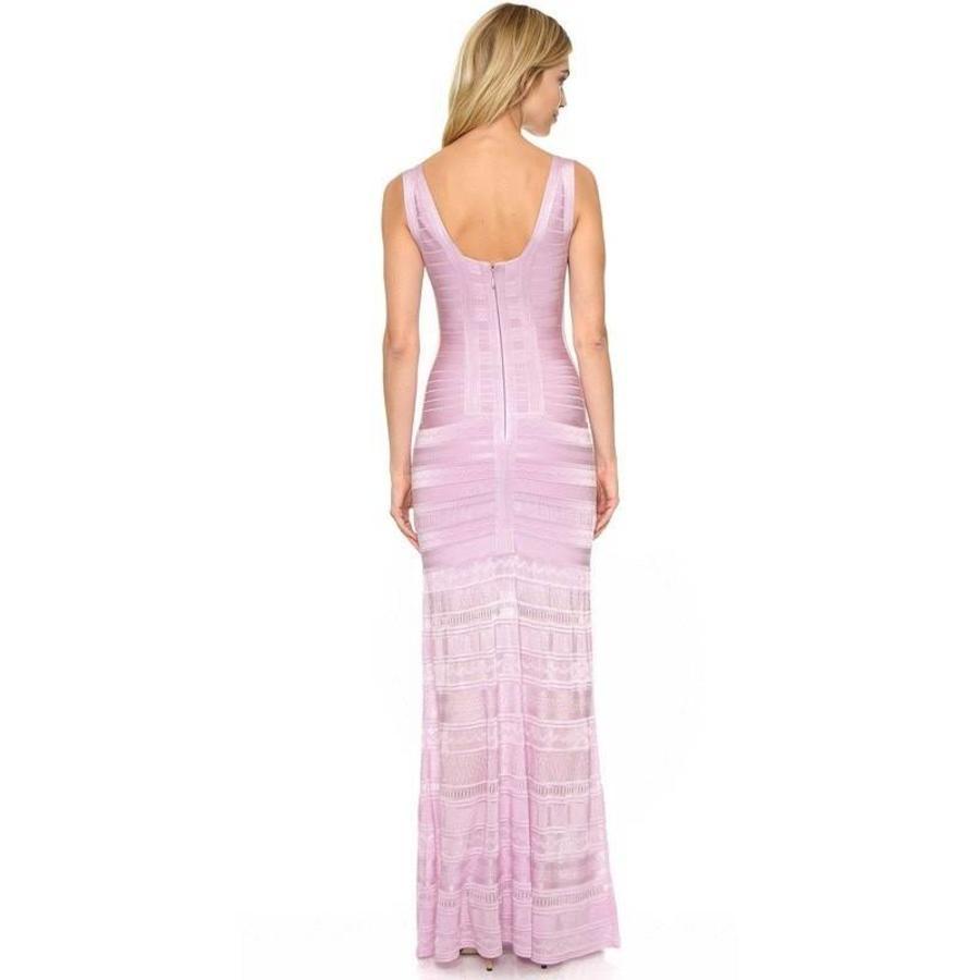 Knitted bandage dress