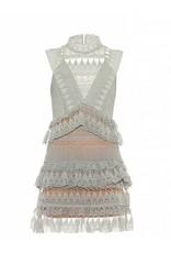 Love Shop Pray Teardrop lace dress