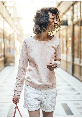 Free Minds/La P'tite Etoile Polka dot sweatshirt