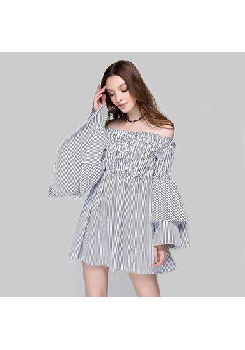 Love Shop Pray Adrienne  striped dress