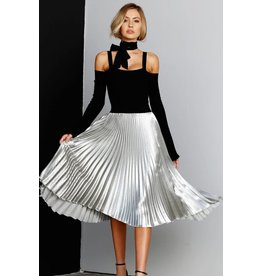Love Shop Pray Pleated skirt