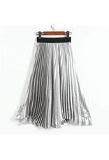 Love Shop Pray Pleated skirt
