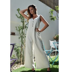 Love Shop Pray Loose wide jumpsuit