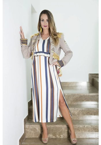 Imperial/Dixie Striped dress