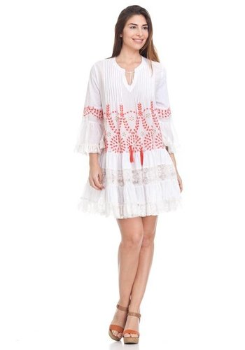 Peace & Love Love printed dress