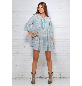 Peace & Love Love eyelet dress
