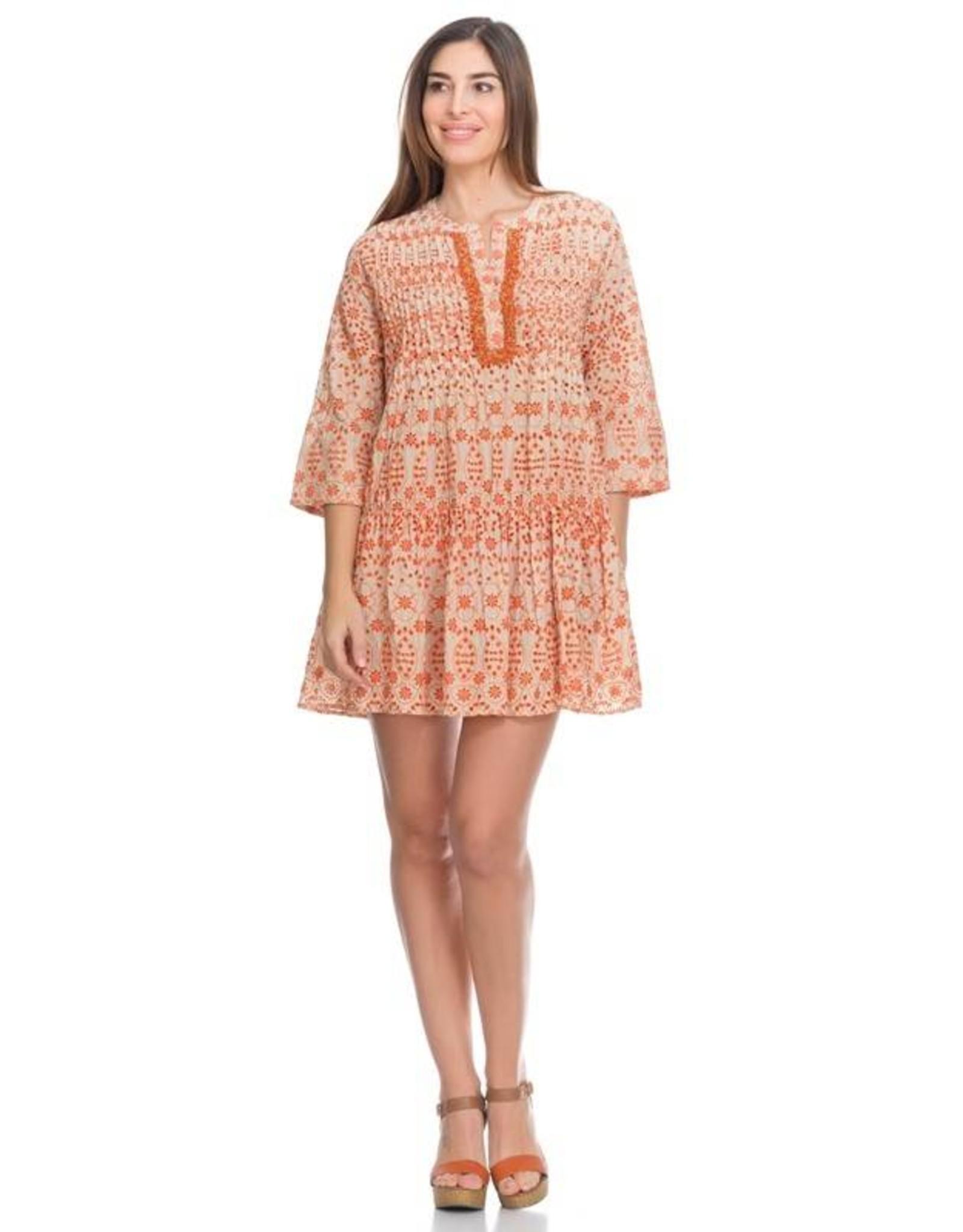 Peace & Love Love eyelet dress
