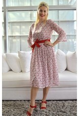 Imperial/Dixie Flamingo Printed Dress