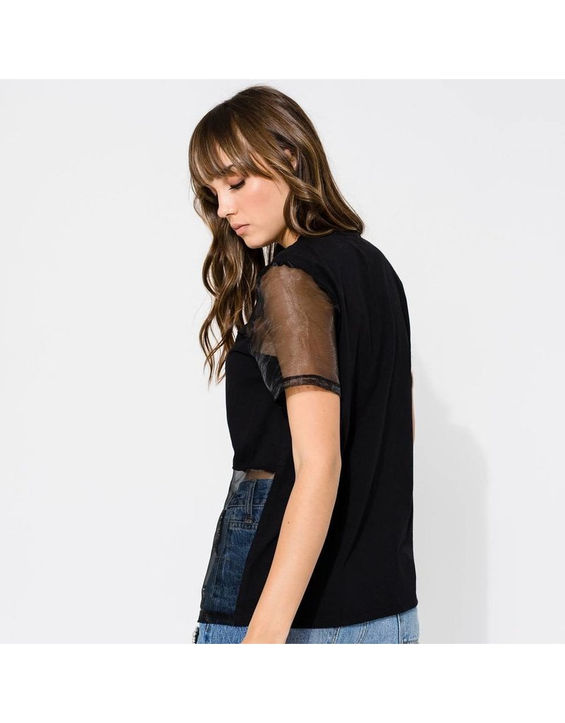 Access Abee Fashion Shirt with aplique crystals