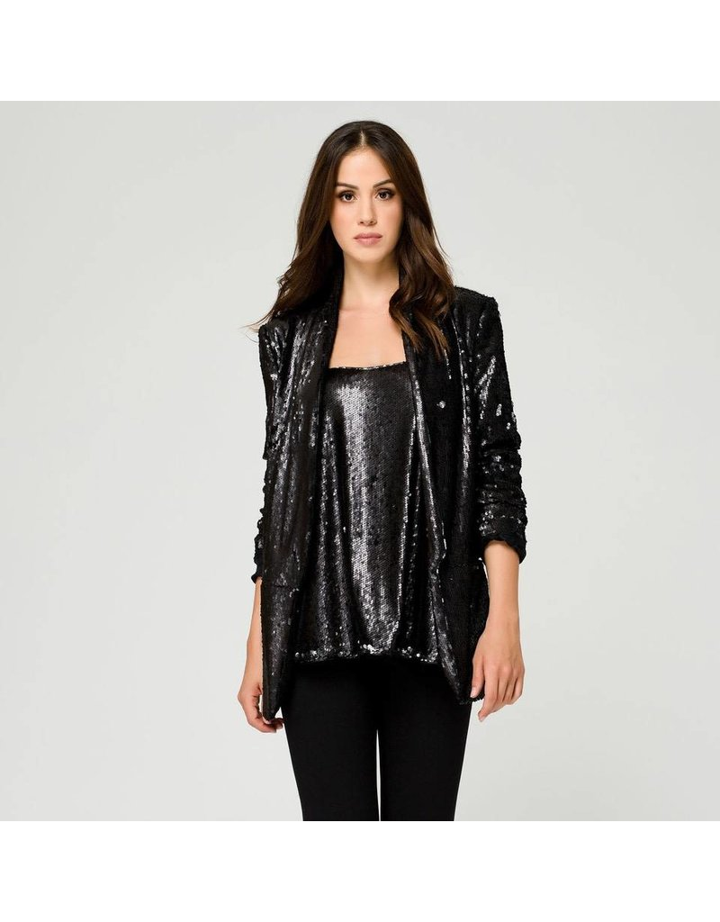 Access Abee Fashion Sleeveless sequins top