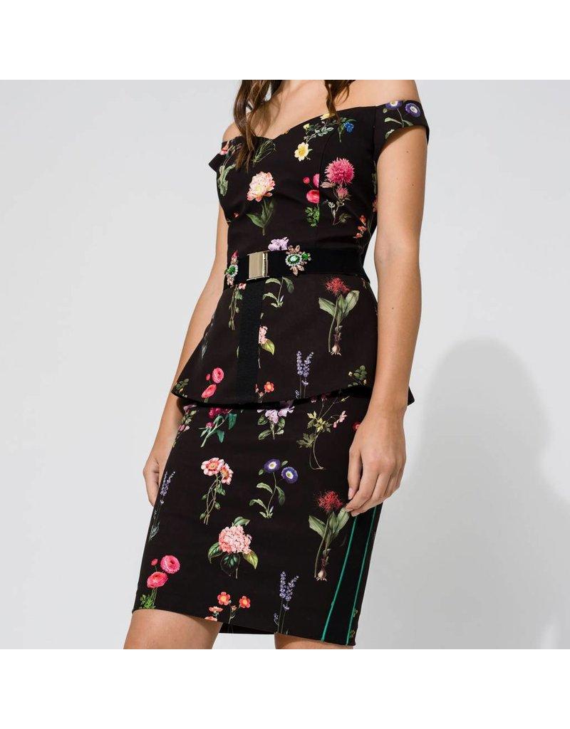 Access Abee Fashion Floral midi skirt