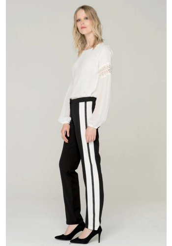 Fracomina/XT Side stripe trouser