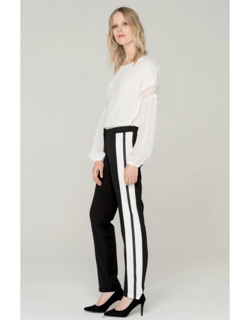 Fracomina/XT Side stripe trouser