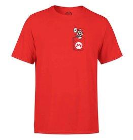 Nintendo T-Shirt Mario Pocket