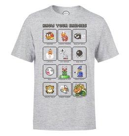 Nintendo T-Shirt Mario Know Your Enemy