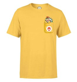 Nintendo T-Shirt Bowser Pocket